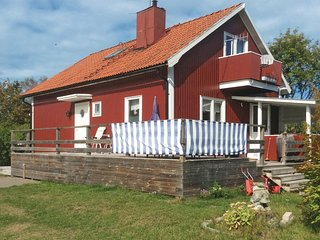 Amazing home in Axmar w/ Sauna and 3 Bedrooms