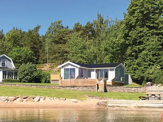 Awesome home in Vänersborg w/ Sauna, WiFi and 1 Bedrooms (S50147)