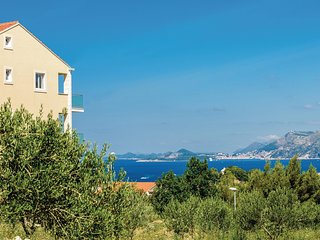 Nice home in Cavtat w/ WiFi and 1 Bedrooms