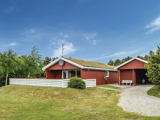 Beautiful home in Rømø w/ Sauna, WiFi and 3 Bedrooms (R10898)