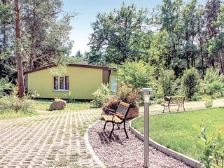 Beautiful home in Heidesee/ Dolgenbrodt w/ WiFi and 2 Bedrooms