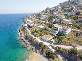 Beautiful home in Porto Ennea-Keratea w/ WiFi and 3 Bedrooms (GAT104)