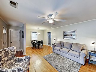 Updated Home w/ New Beds & Decor - Short Drive to Beach & Downtown