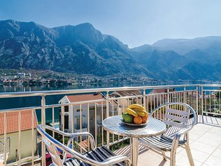 Awesome home in Kotor w/ WiFi and 1 Bedrooms