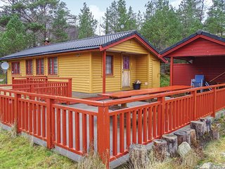 Beautiful home in Dirdal w/ Sauna, 2 Bedrooms and WiFi