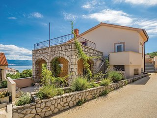 Amazing home in Vrbnik w/ WiFi and 2 Bedrooms