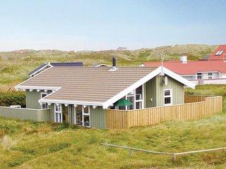 Beautiful home in Thisted w/ Sauna, WiFi and 3 Bedrooms (B04021)
