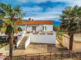 Awesome home in Krk w/ WiFi and 2 Bedrooms