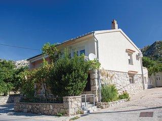 Beautiful home in Draga Bascanska w/ 1 Bedrooms