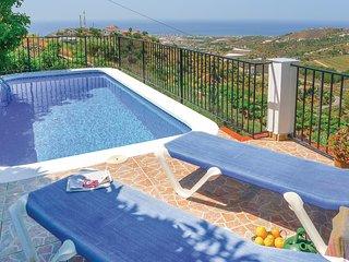 Nice home in Torrox, Malaga w/ WiFi and 3 Bedrooms
