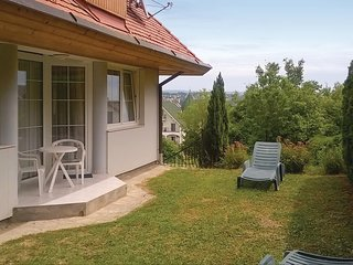 Awesome home in Héviz w/ WiFi and 1 Bedrooms