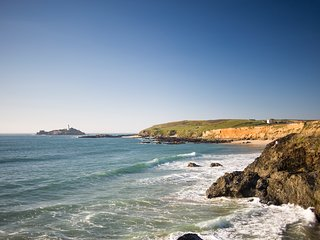 Godrevy House - spacious three bedroomed house in quite seaside village.