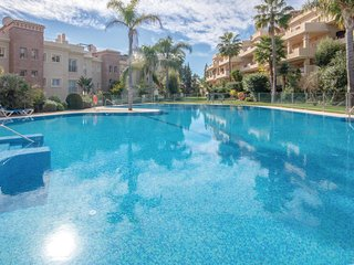 Amazing apartment in Cancelada w/ WiFi, Outdoor swimming pool and 3 Bedrooms