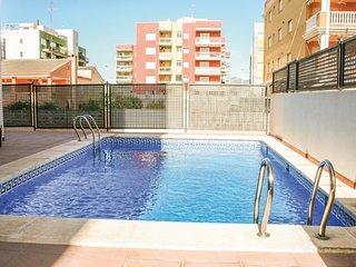 Stunning home in El Grau de Moncofa w/ 2 Bedrooms (EBA025)