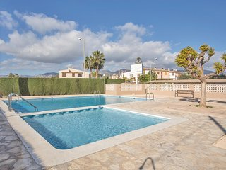 Awesome home in Benacassim w/ Outdoor swimming pool and 1 Bedrooms