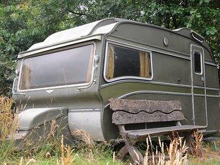 Vintage Safari Caravan
