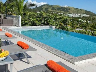 Villa La Sarabande   Ocean View - Located in Fabulous Orient Bay with Private