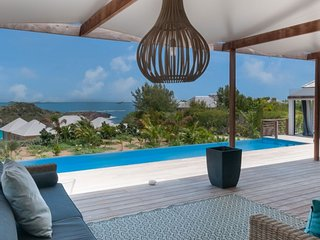 Villa Cairn | Ocean View - Located in Beautiful Petit Cul de Sac with Private