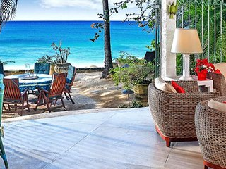 Villa Seascape | Beach Front - Located in Wonderful Gibbs Beach with Private C