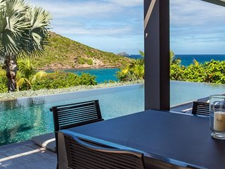Villa Eden House | Ocean View - Located in Beautiful Marigot with Private Pool