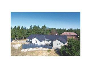 Nice home in Blavand w/ Sauna, WiFi and 4 Bedrooms (P32390)
