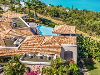 Villa Happy Bay | Beach View - Located in Magnificent Happy Bay with Private P