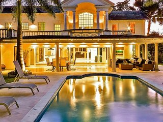 Villa Amberley House | Beach Front - Located in Exquisite Sandy Lane with Priv