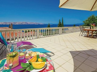Beautiful home in Senj w/ WiFi and 3 Bedrooms (CKV235)