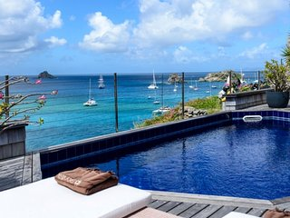 Villa Sky Vista   Ocean Front - Located in Exquisite Gustavia with Private Poo