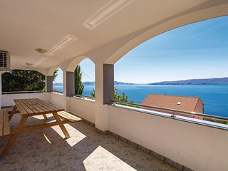Awesome home in Senj w/ WiFi and 4 Bedrooms