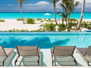 Villa Hawksbill | Beach Front - Located in Magnificent Grace Bay with Private