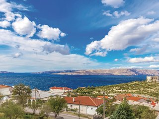 Awesome home in Senj w/ 2 Bedrooms