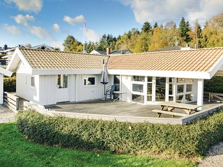 Awesome home in Bjert w/ Sauna, WiFi and 3 Bedrooms