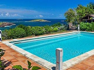 Villa Le Roc | Ocean View - Located in Exquisite Petit Cul de Sac with Private