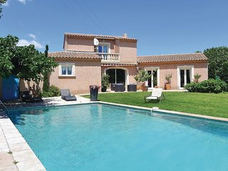 Nice home in Eyguieres w/ WiFi and 4 Bedrooms