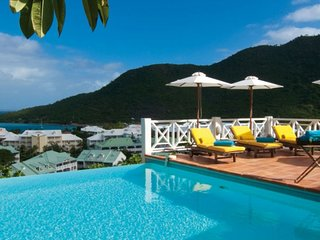 Villa Casa Branca | Ocean View - Located in Wonderful Anse Marcel with Private