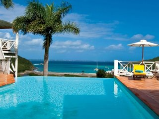 Villa Casa Branca | Ocean View - Located in Beautiful Anse Marcel with Private