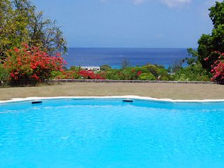 Summer Special At Villa San Flamingo | Ocean View - Located in Tropical Saint J