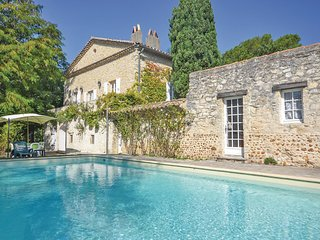 Nice home in St Marcel les Sauzet w/ WiFi, Outdoor swimming pool and 4 Bedrooms