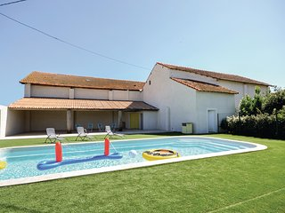 Amazing home in Le Sambuc w/ WiFi, 2 Bedrooms and Outdoor swimming pool