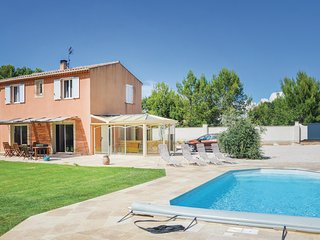 Nice home in Saint Cannat w/ WiFi and 4 Bedrooms (FPB341)