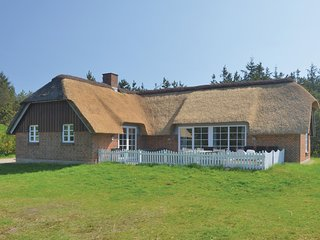 Nice home in Ulfborg w/ Sauna and 5 Bedrooms