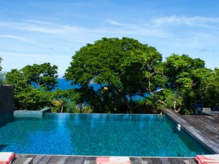 Villa Turtle | Ocean View - Located in Tropical Mont Jean with Private Pool