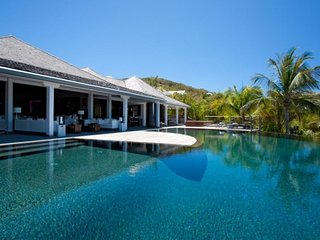 Villa Silver Rainbow | Ocean Front - Located in Stunning Petit Cul de Sac with