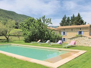 Nice home in La Roche St Secret w/ WiFi and 5 Bedrooms