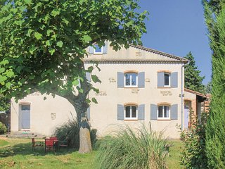 Beautiful home in La Begude de Mazenc w/ WiFi and 1 Bedrooms