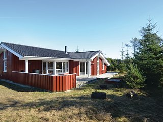 Beautiful home in Fjerritslev w/ Sauna and 4 Bedrooms (C7480)