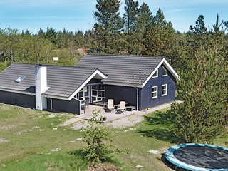 Amazing home in Henne w/ Sauna, WiFi and 4 Bedrooms (P42315)