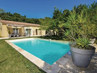 Stunning home in Grignan w/ WiFi and 5 Bedrooms