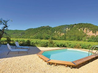 Awesome home in Propiac Les Bains w/ 4 Bedrooms